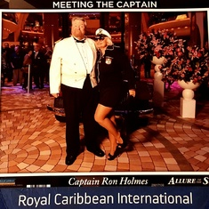 Ft. Lauderdale (Port Everglades), Florida - VALENTINA AVED WITH CAPTAIN RON HOLMES