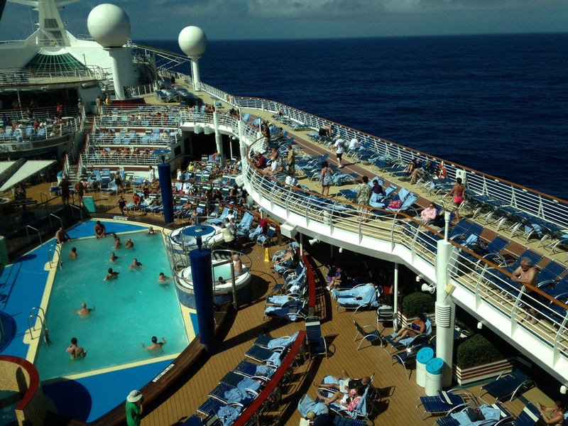 Pool and deck - Explorer of the Seas