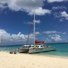 Grand Cayman snorkel/sail