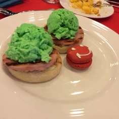 Dr. Seuss Breakfast (Green Eggs & Ham)
