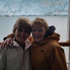 Me and a friend I met onboard from New Brunswick