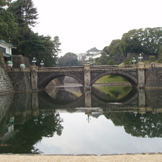 Tokyo, Japan - Bridge to Royal Palace Tokyo