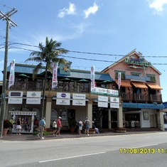 George Town, Grand Cayman - Wasting away