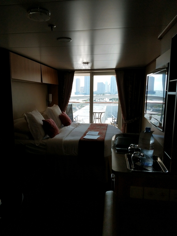 Balcony Cabin 1210 On Celebrity Reflection Category Cz