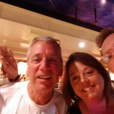 Fun with friends we met on the Ship