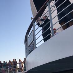 Veteran's Day Service onboard