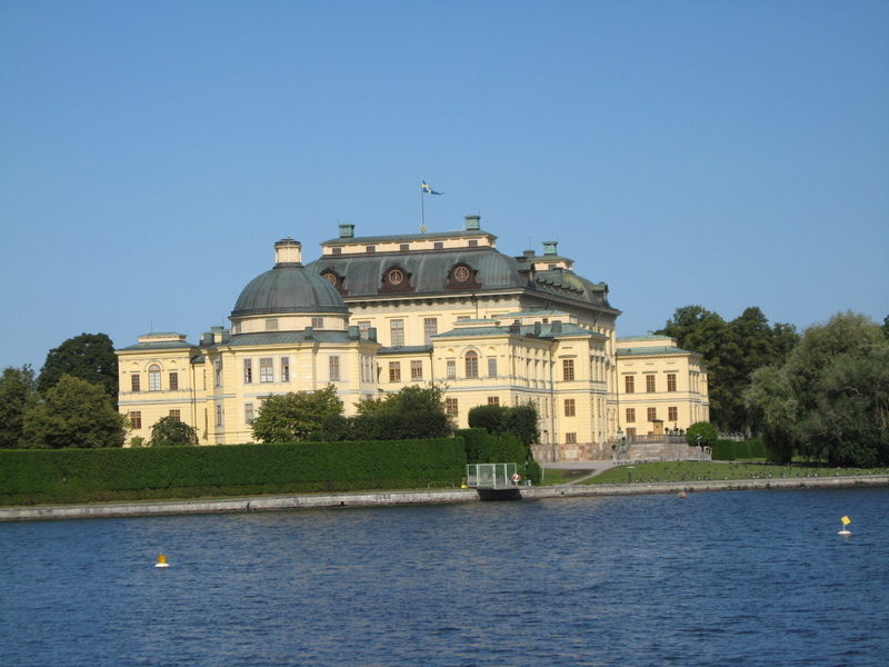 Royal summer palace--Stockholm Sweden - Seven Seas Voyager