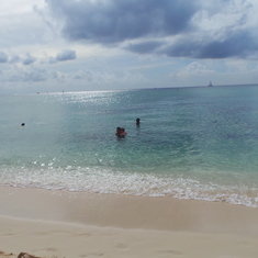 Beautiful day in Cayman Islands