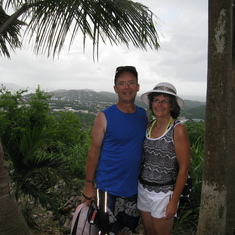 Charlotte Amalie, St. Thomas - A scenic overlook