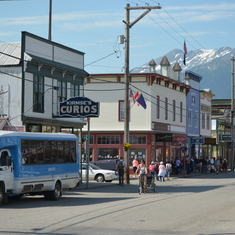 Skagway, Alaska - Downtown Skagway