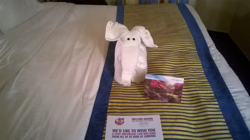 Carnival Victory cabin 2425 - Thank You