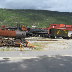 Skagway, Alaska - What a railroad this was and still is. Finished at the end of the Klondike gold