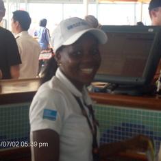 Fantastic waitress