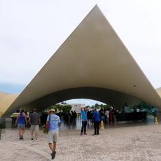 Bacardi Rum Tasting Tent