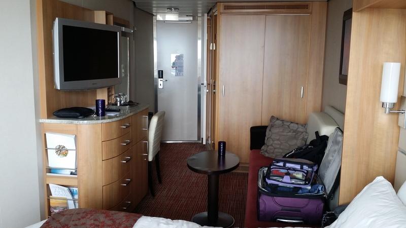 Balcony cabin 8129 on celebrity equinox category 1c for Celebrity equinox cabins photos