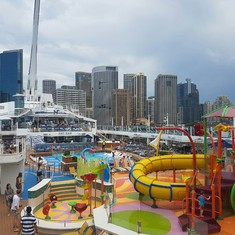 H2O Zone on Ovation of the Seas