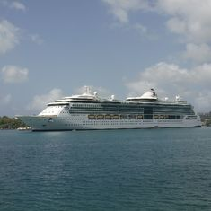 Docked in Antigua