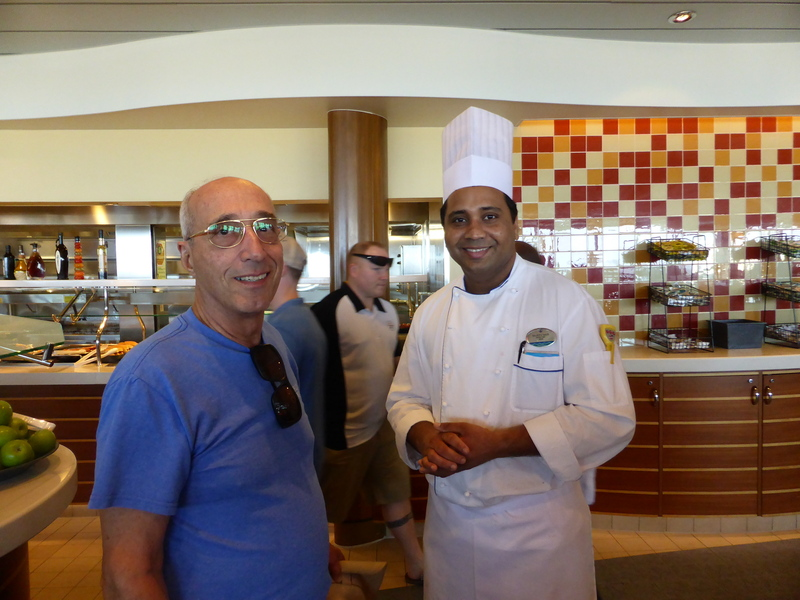 With Head Chef - Allure of the Seas