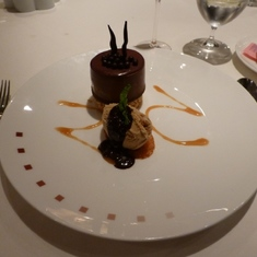 Celebrity Constellation - Dessert in Ocean Liners