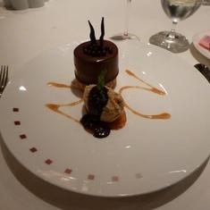 Celebrity Constellation - Dessert in Ocean Liners
