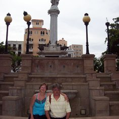 Photo op in San Juan