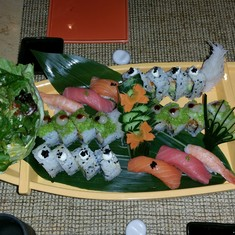 Bonsai Sushi on Carnival Breeze