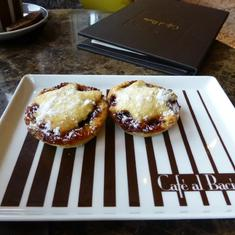 Fruit Mince Pies in Cafe al Bacio
