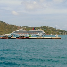 Ship from Charlotte Amalie