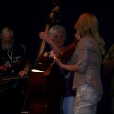 Rhonda's Mom On Bass
