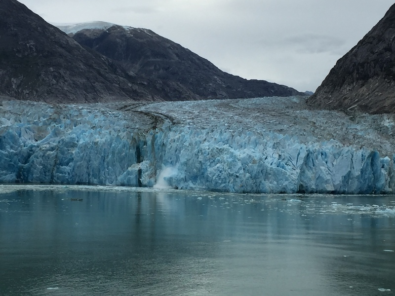 Cruise Inside Passage, Alaska - Dawes Glacier Calving