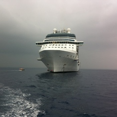 The majesty of Celebrity Solstice