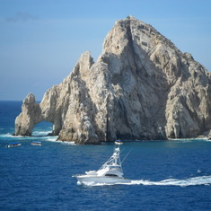 Cabo San Lucas, Mexico - View from our balcony in Cabo San Lucas.
