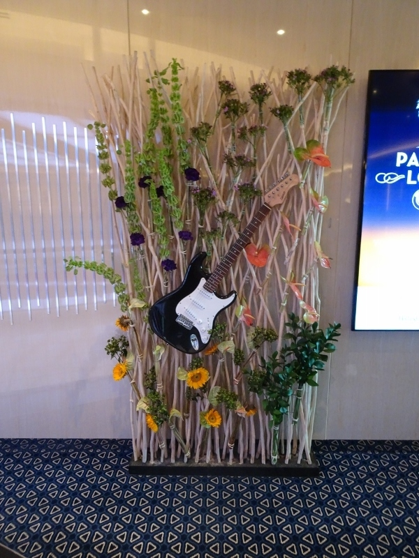 Music-themed Art decor - Koningsdam