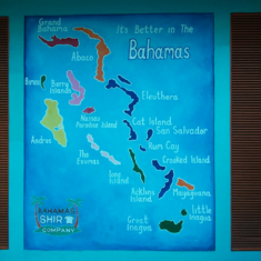 map of Grand Bahamas