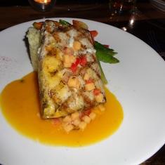 San Juan, Puerto Rico - Fish dinner
