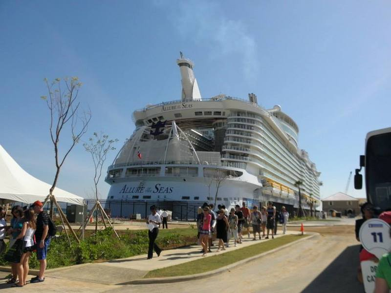 Allure of the Seas, Royal Caribbean - September 07, 2014