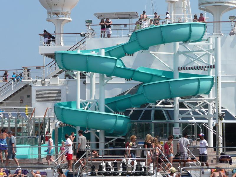 Water Slide - Carnival Freedom