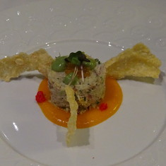 Crab stack, Chef's Table