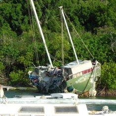 Charlotte Amalie, St. Thomas - shipwrecked