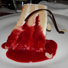 Looks good, right? MDR dessert.