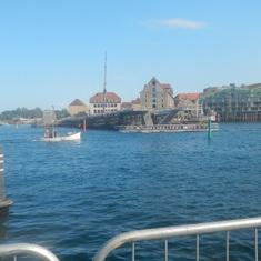 Copenhagen, Denmark - Canal boat
