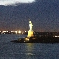 Statue of Liberty, Norwegian Breakaway