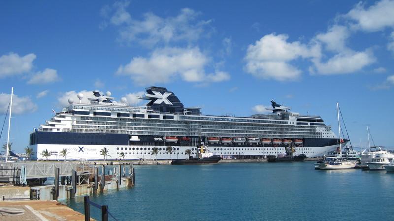 Docked in Bermuda - Celebrity Summit