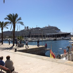 Cartagena, Spain - The Eurodam in Cartegena