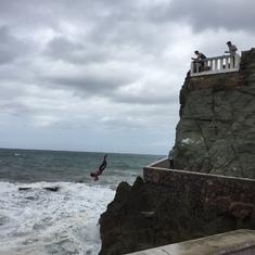 Mazatlan, Mexico - Cliff diver