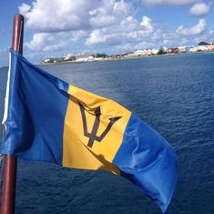 Jolly rogger in Barbados