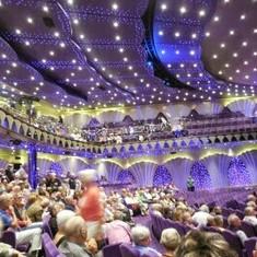 Carlo Felice Theatre on MSC Poesia