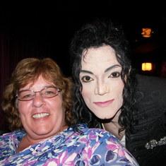 Miami, Florida - 'Michael Jackson' & me!