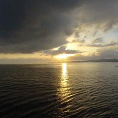 Honduran sunset
