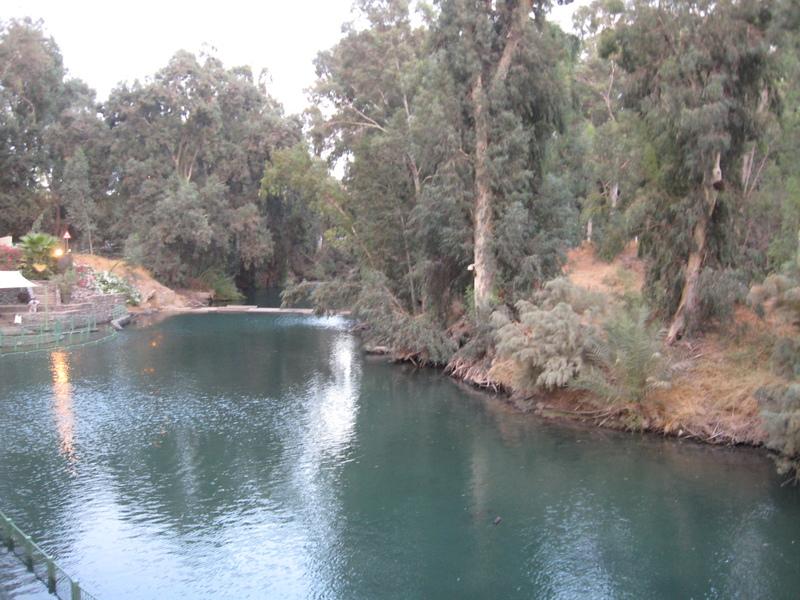 Aqaba (Petra), Jordan - Jordan River--Many tourist baptisms here